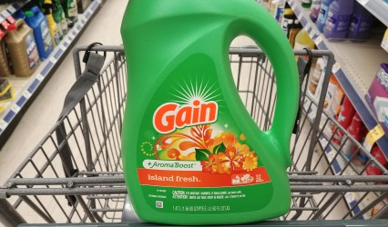Gain Laundry Detergent at Walgreens