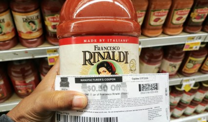 Francesco Rinaldi Sauce at Shoprite