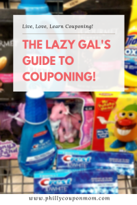 The Lazy Gal's Guide to Couponing!