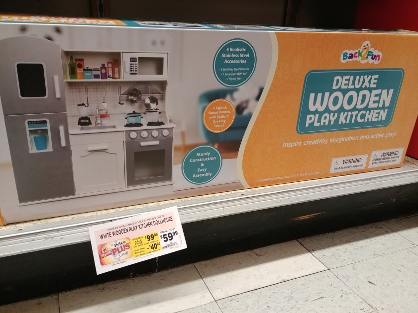 Wooden Play Kitchen Dollhouse at Shoprite