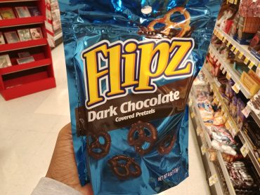 Flipz Chocolate Covered Pretzels at Shoprite