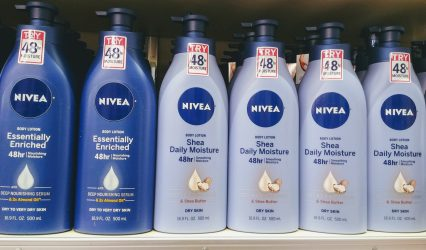 Nivea Lotion at Shoprite