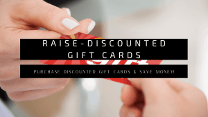 RAise-Discounted Gift Cards