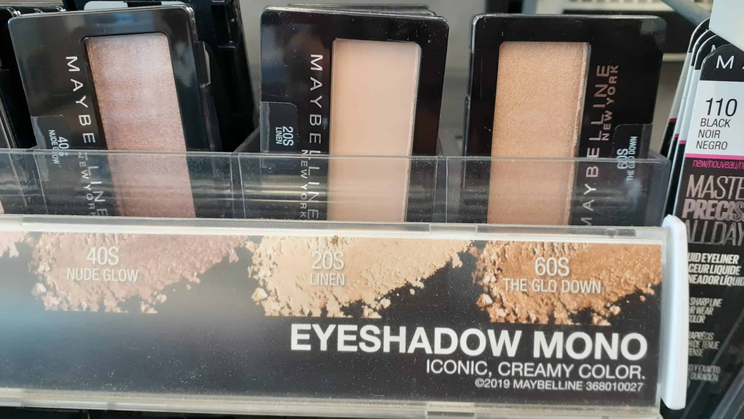 Maybelline Mono Eyeshadow at Walgreens