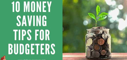 10 Money SAving Tips for Budgeters