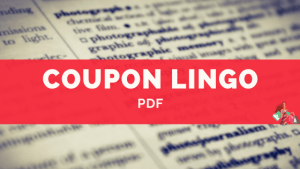 Coupon Lingo PDF