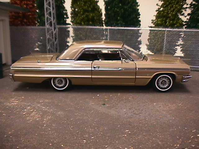 PhillyMint Diecast West Coast 1964 Chevrolet Impala