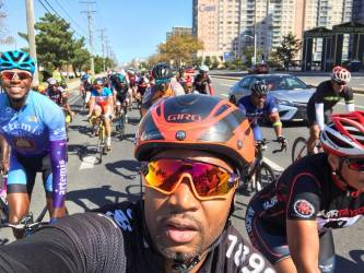 Seagull Century Ride and Major Taylor Party Weekend