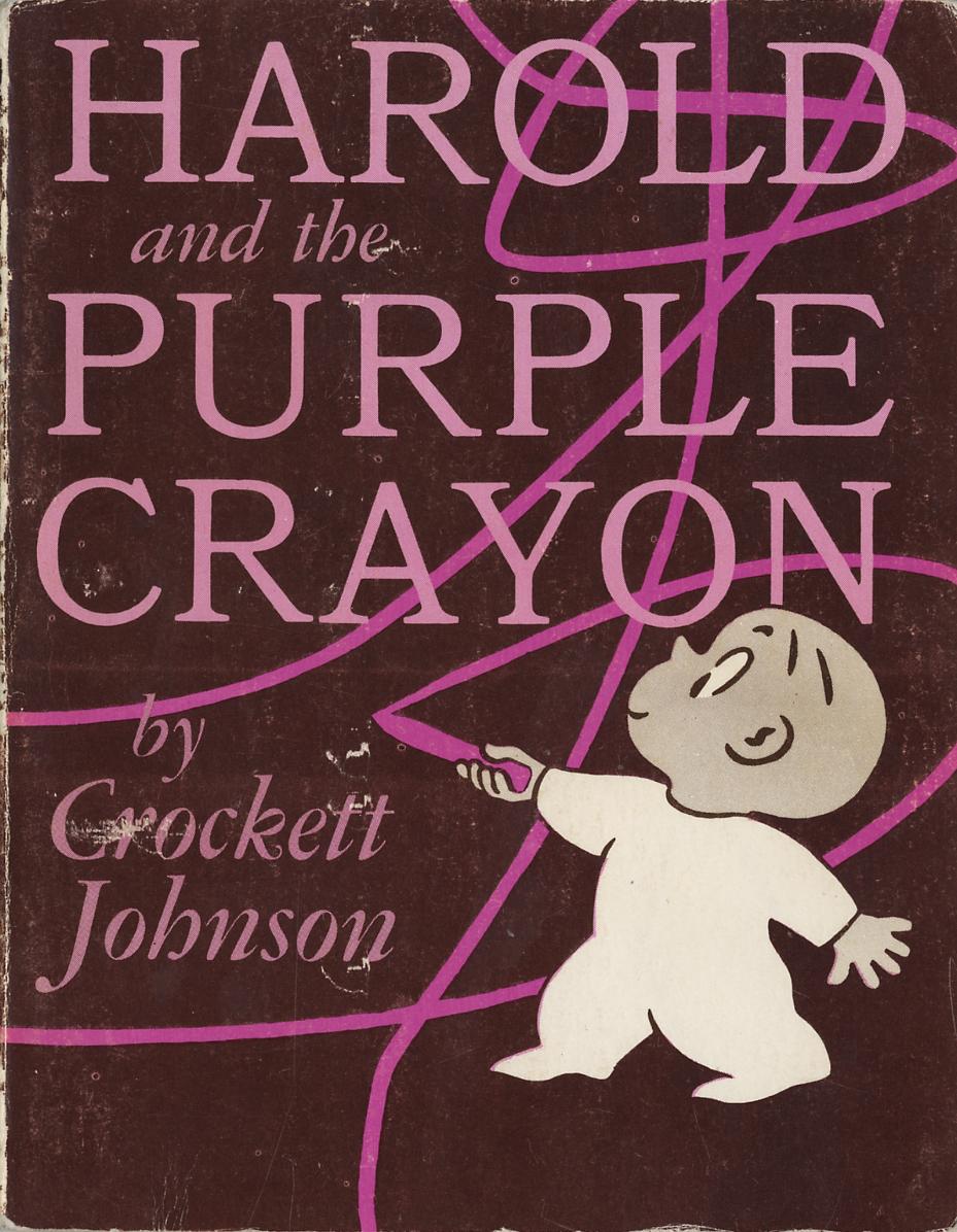 Crockett Johnson, Harold and the Purple Crayon (1955): cover