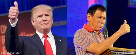 Image result for trump and duterte
