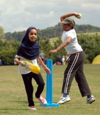 Children from inner-city Leicester school enjoy a Cricket & Countryside day at Belvoir