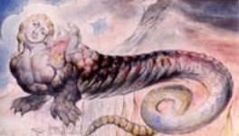 Geryon porte Dante et Virgile dans les profondeurs de Malefosse