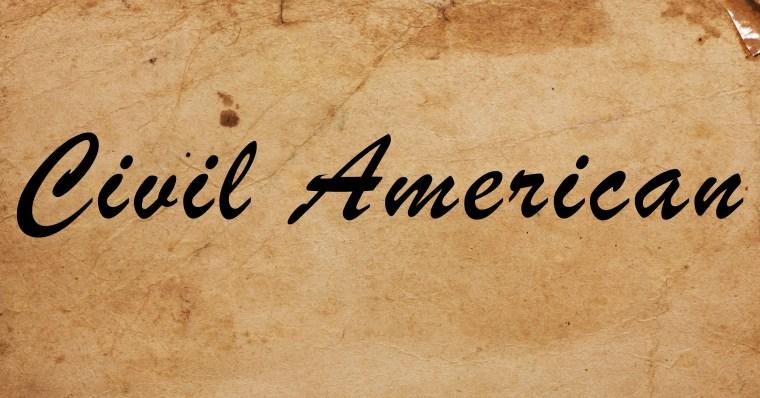 Logo for SOPHIA's Civil American series.
