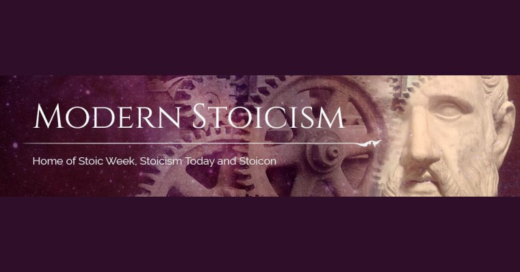 The logo for Modern Stoicism.
