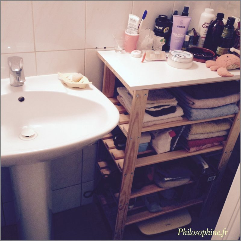 minimalisme dans la salle de bain