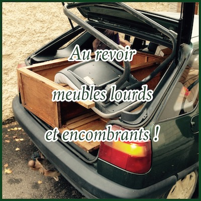 le mobilier sombrant