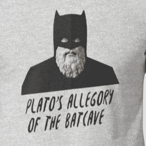 Allegory of the Batcave - Plato Shirt