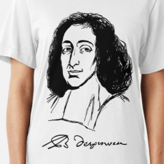 Spinoza Portrait Shirt