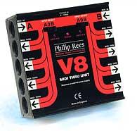[Photo: V8 midi thru box]