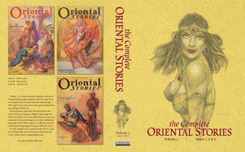 Oriental stories magazine cover