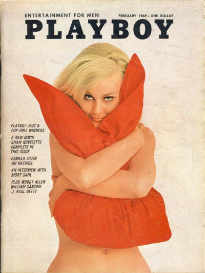 Playboy, February 1969, as read by James Bond in On Her Majesty's Secret Service