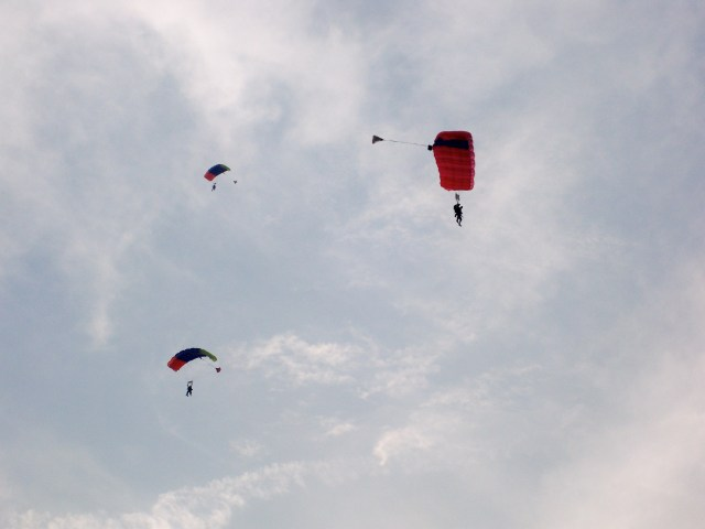 Skydiving at Sunset #3