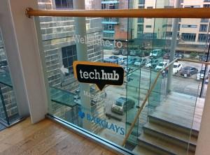 TechHub Manchester signage