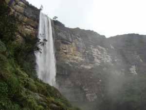 Chutes d'eau de Gocta, région Amazonas.