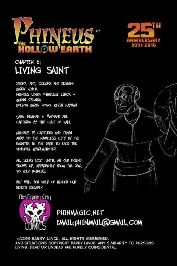 Living Saint Credits