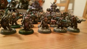 Squat squad (Counts as Inquisitorial Storm Troopers)