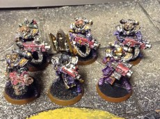 Heavy bolter Retribution squad
