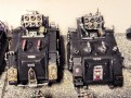 My custom Excorcists. Missle launchers made from the bottoms of bases and random bits,