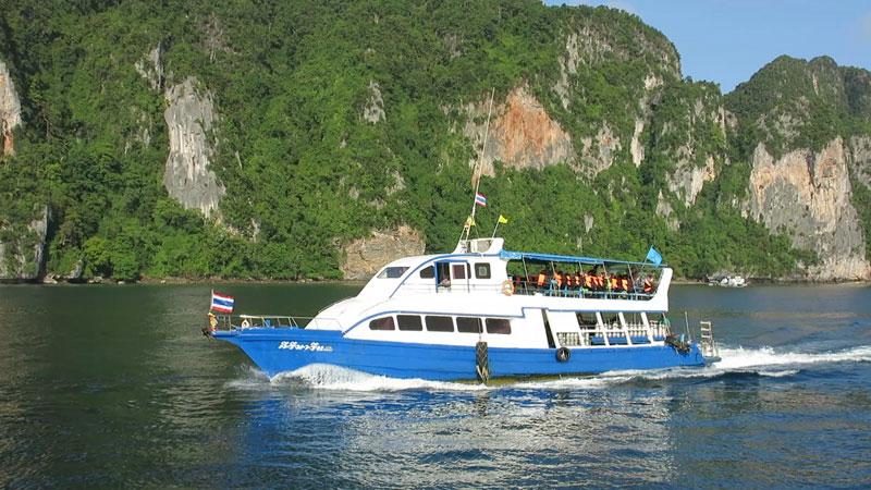 Phi Phi Barakuda Dive Boats - Kiri Marine
