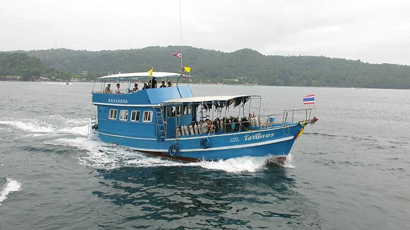 Phi Phi Barakuda Dive Boats-oceania