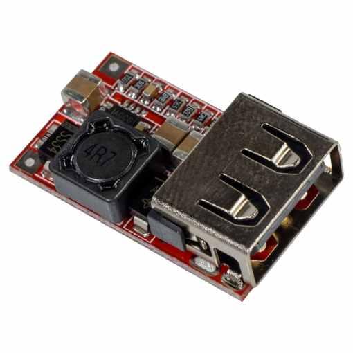 PHI1071378 – 6-24V DC-DC Step Down USB Buck Power Module – Pack of 2 02