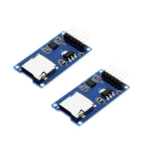 Micro SD Card Reader Module for Arduino - Pack of 2 - 01