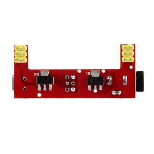 Breadboard Power Supply Module 3.3V – 5V (Red Wings – MB102)