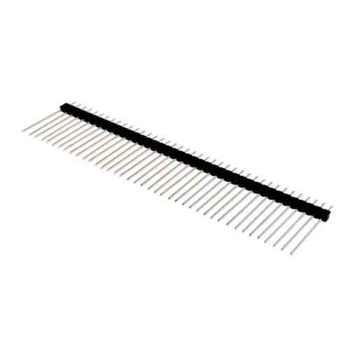 2.54mm Pitch 40 Way 20mm Long Straight Pin Headers – Pack of 5