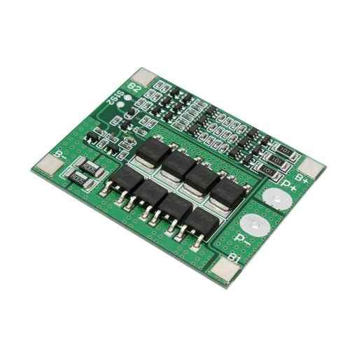 PHI1071823 – HX-3S-FL25A Li-ion 18650 Battery Protection BMS Board – 3S 25A 02