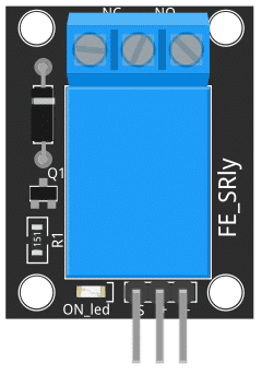 Figure 1: KY-019 5V Single Relay Module