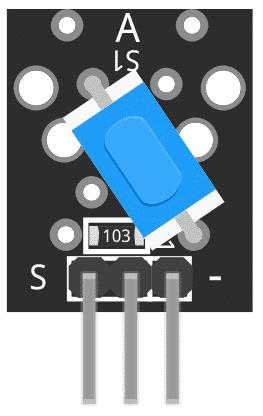 Figure 1: KY-020 Tilt Switch Module