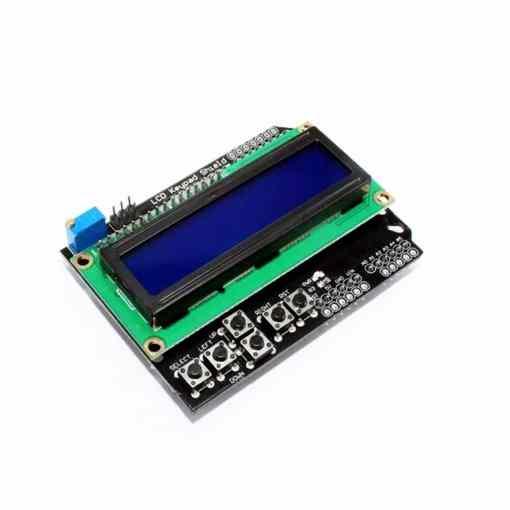 PHI1072228 – 1602 LCD Display Keypad Shield 02