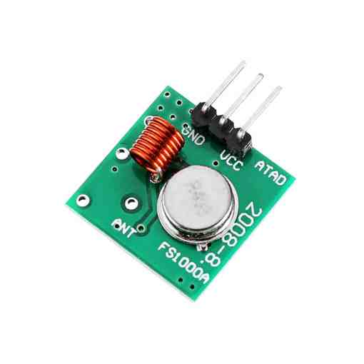 PHI1072291 – 433MHz RF Wireless Transmitter and Receiver Module Kit 02