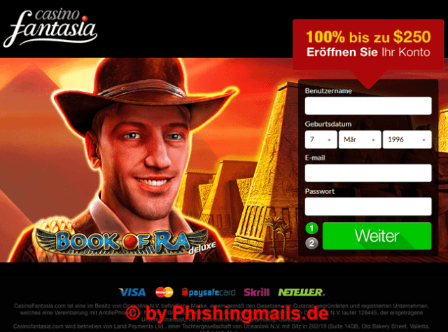 Novoline - Book of Ra - neue webseite online - Casino Spam
