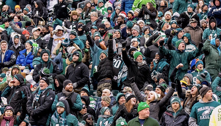 Philadelphia Eagles Fans Set to Make Noise at Sunday's Game