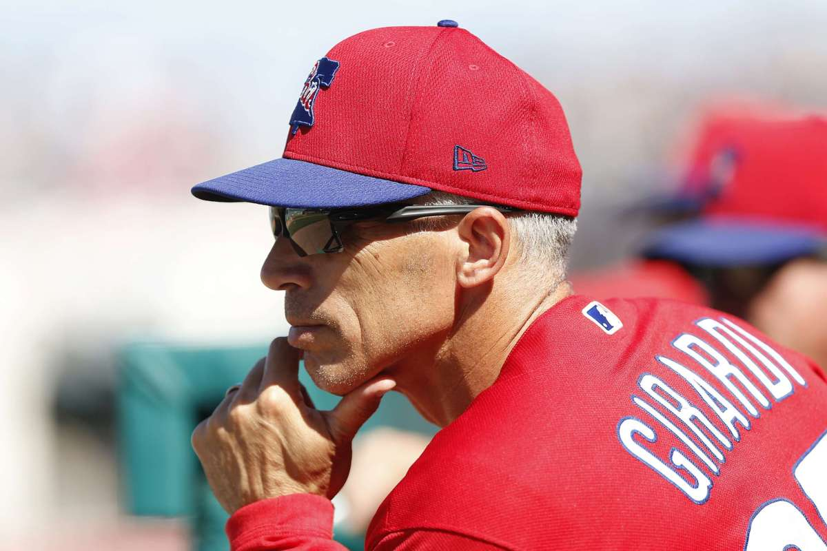 The Phillies' playoff hopes hinge on how Girardi handles the bullpen