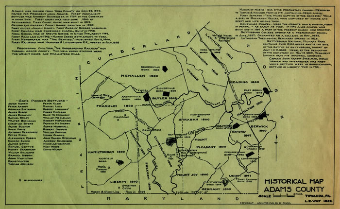 Wilt s Map   PHMC   Our Documentary Heritage Wilt s map