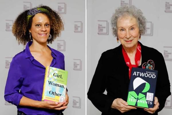 Margaret Atwood and Bernardine Evaristo winners of Booker ...