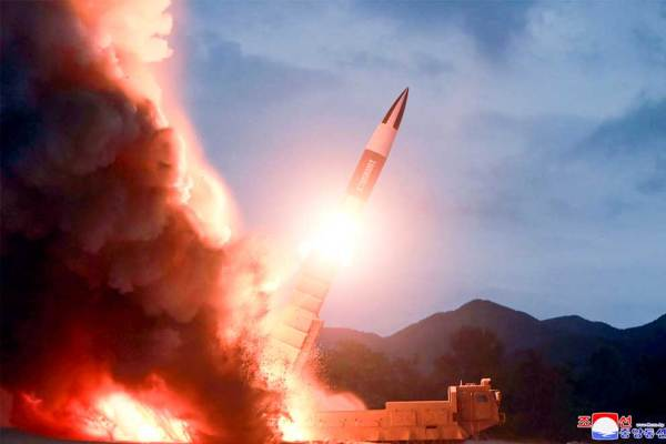 Pyongyang fires 'new weapon' in protest of US-S Korea ...