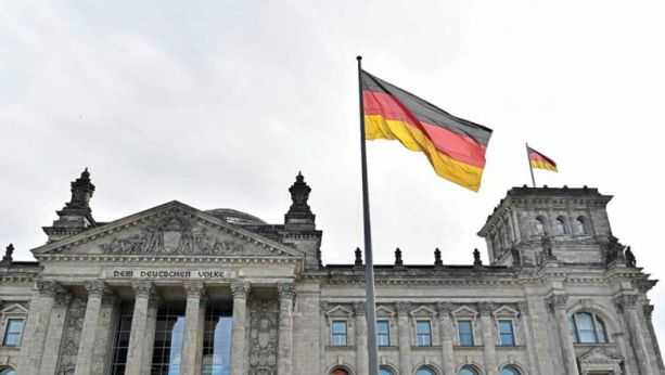The Reichstag, which houses the lower house of the Germain parliament, in Berlin. The German Ministry of Foreign Affairs recently disclosed to parliament measures taken in response to Cambodia's crackdown on the opposition. JOHN MACDOUGALL/AFP